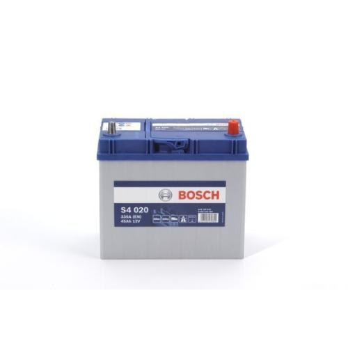 Starterbatterie Bosch 0092S40200 S4 für Daihatsu Honda Mazda Nissan Opel Renault