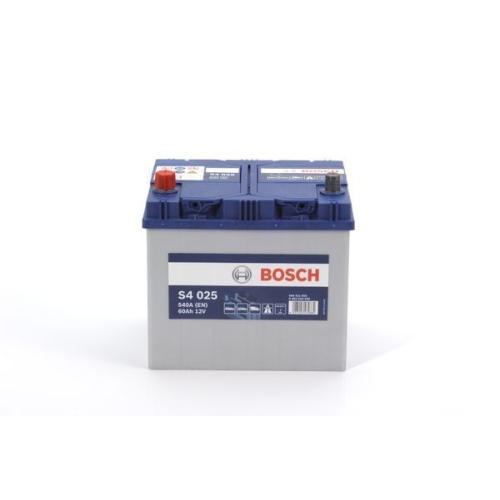 bosch s4 025 autobatterie starterbatterie 12v 50ah 540a. Black Bedroom Furniture Sets. Home Design Ideas