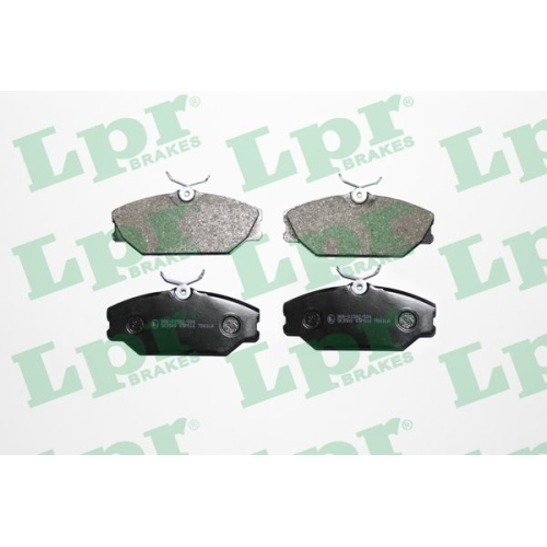 4 Bremsbelagsatz Scheibenbremse Lpr 05P816 für Renault Vorderachse