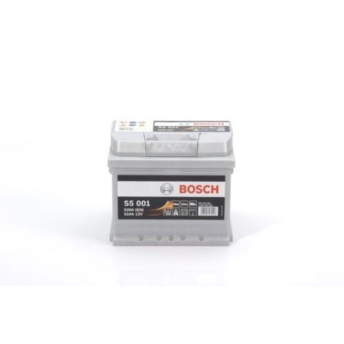 Starterbatterie Bosch 0092S50010 S5 für Audi Barreiros Bmw Fiat Ford Jaguar Opel
