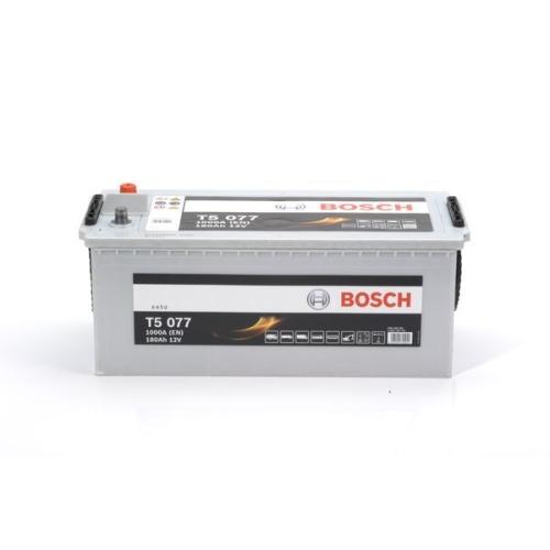 1 Starterbatterie BOSCH 0092T50770 T5 für DAF IVECO LEYLAND MAN MERCEDES-BENZ