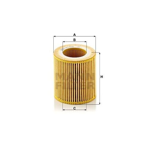 Ölfilter Mann-filter HU 816 z KIT für Bmw