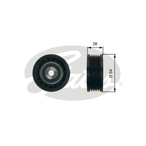 Spannrolle, Keilrippenriemen GATES T39234 DriveAlign® OPEL RENAULT VAUXHALL