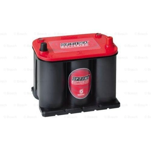 1 Starterbatterie BOSCH 0098035255 Optima Red Top