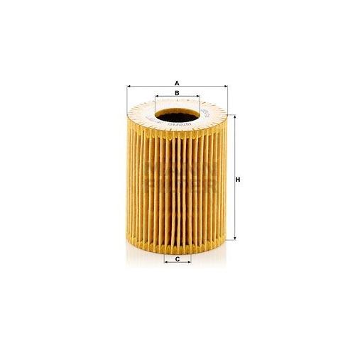 1 Ölfilter MANN-FILTER HU 7017 z VAG