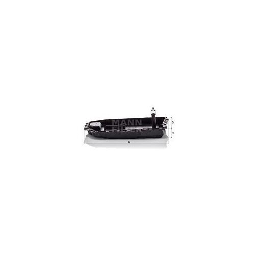 Hydraulikfilter Automatikgetriebe Mann-filter H 50 001 für Bmw