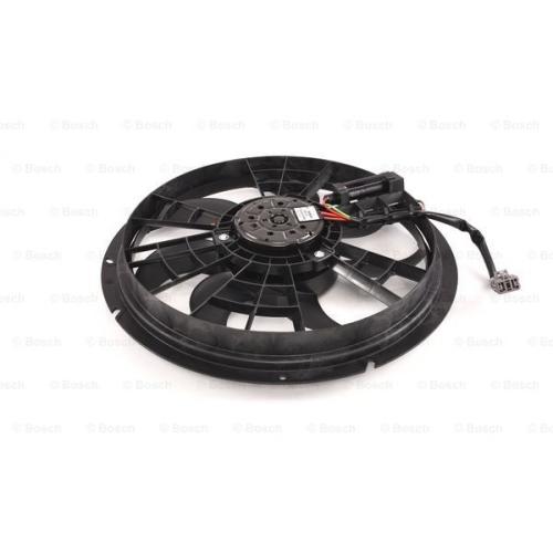 BOSCH Elektromotor, Kühlerlüfter, für Fahrzeuge mit Klimaanlage