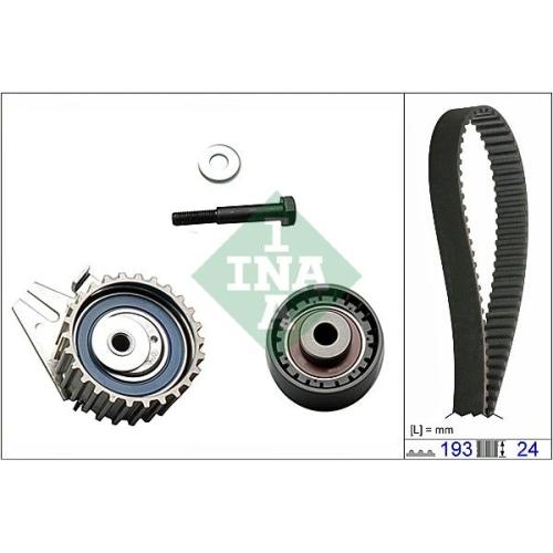 Zahnriemensatz Ina 530 0623 10 für Fiat