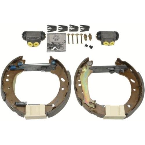 2 Bremsbackensatz TRW GSK1675 Superkit, Hinterachse