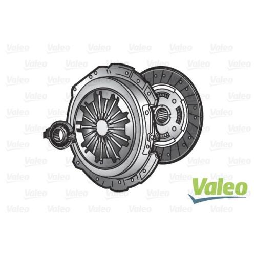 Kupplungssatz Valeo 821242 3kkit für Fiat Lancia