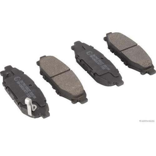 Bremsbelagsatz Scheibenbremse Herth+buss Jakoparts J3617003 für Subaru Toyota