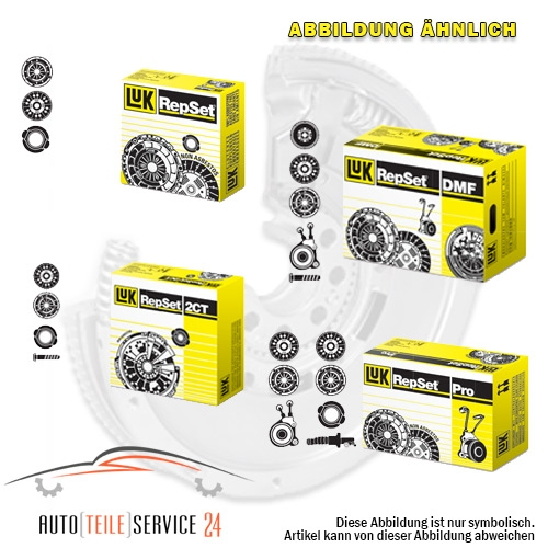 LuK Clutch Kit LuK RepSet Pro, for engines with dual-mass flywheel