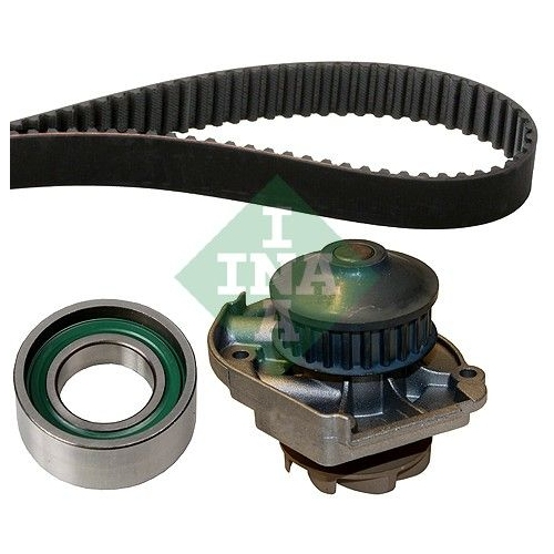 1 Wasserpumpe + Zahnriemensatz INA 530 0205 30 für FIAT LANCIA