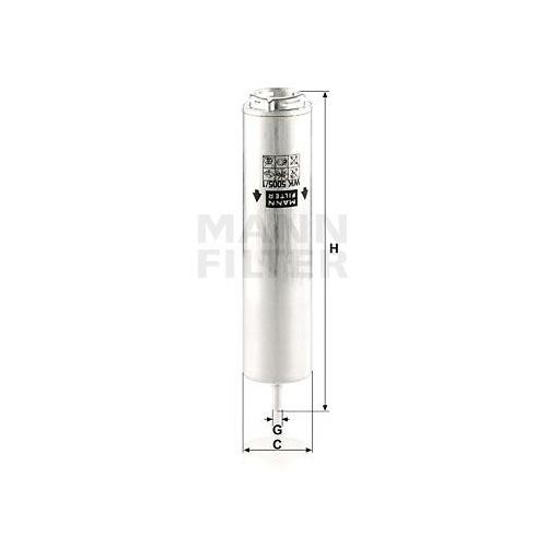 Kraftstofffilter Mann-filter WK 5005/1 z für Bmw