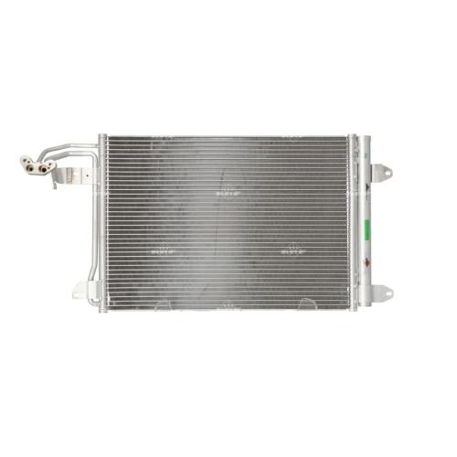 1 Kondensator, Klimaanlage NRF 35520 EASY FIT AUDI SEAT SKODA VW