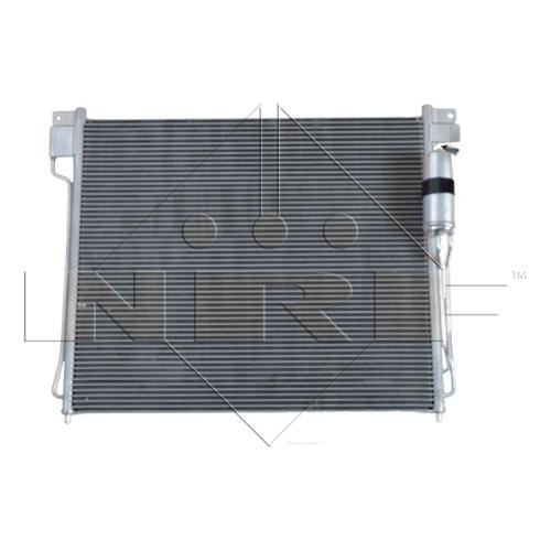 1 Kondensator, Klimaanlage NRF 35582 EASY FIT NISSAN