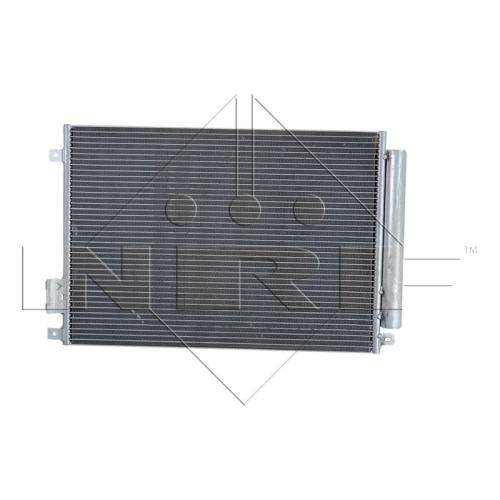 1 Kondensator, Klimaanlage NRF 35753 EASY FIT für CHRYSLER FIAT FORD LANCIA