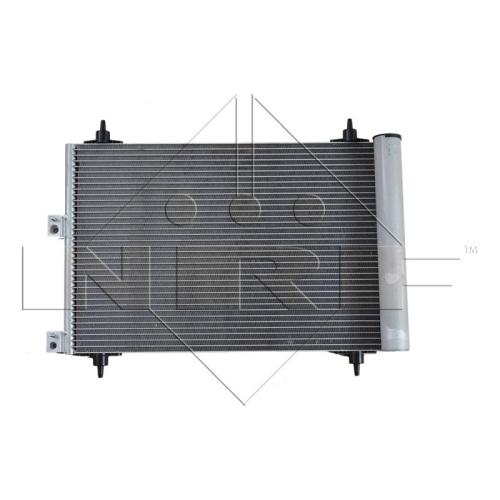 1 Kondensator, Klimaanlage NRF 35843 EASY FIT CITROËN PEUGEOT