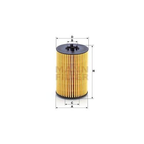 1 Ölfilter MANN-FILTER HU 7020 z für VAG