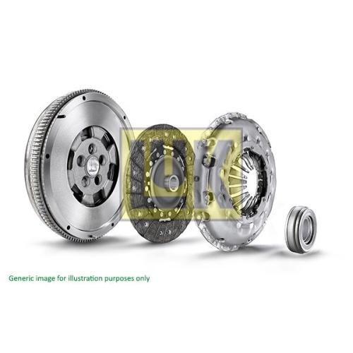 1 Kupplungssatz LuK 600 0178 00 LuK RepSet DMF AUDI VW