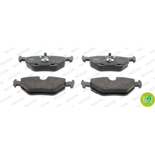 Bremsbelagsatz Scheibenbremse Ferodo FDB850 Premier Eco Friction für Bmw