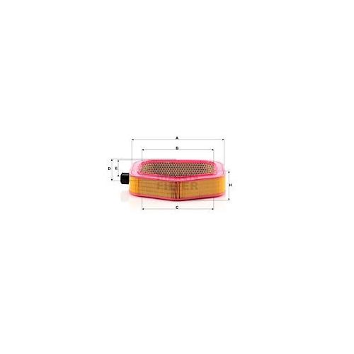 1 Luftfilter MANN-FILTER C 40 193 MERCEDES-BENZ