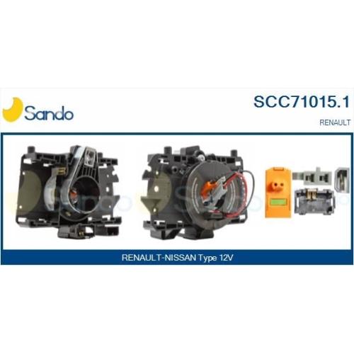 Wickelfeder Airbag Sando SCC71015.1 für Renault Für Fahrzeuge Mit Obd