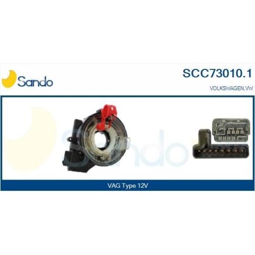 Wickelfeder Airbag Sando SCC73010.1 für Vag Für Fahrzeuge Mit Obd