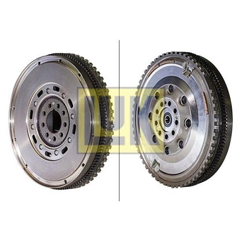 1 Schwungrad LuK 415 0624 10 LuK DMF PORSCHE, für Fahrzeuge mit Schaltgetriebe