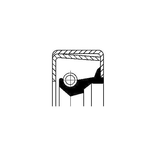 Wellendichtring Verteilergetriebe Corteco 01003282B für Man Volvo Case Ih ZF