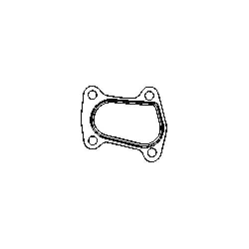 Dichtung Abgasrohr Corteco 027436H für Fiat Opel Abgasrohr An Schalldämpfer