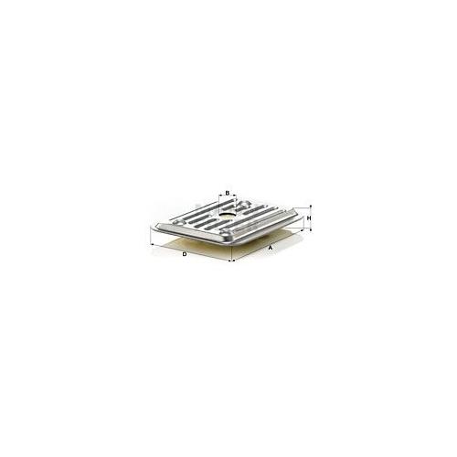 Hydraulikfilter Automatikgetriebe Mann-filter H 2019 KIT 1 für Vag