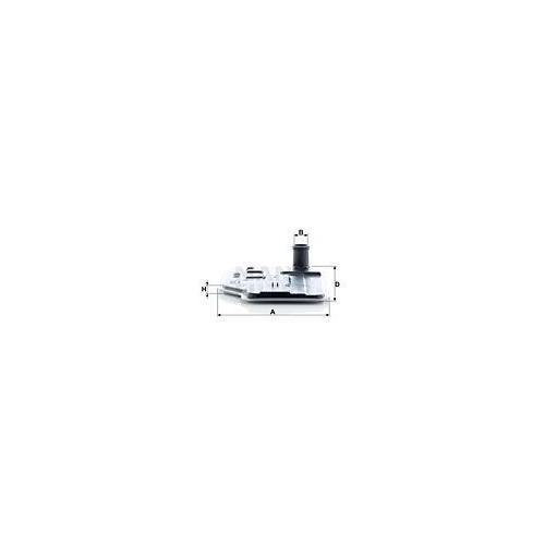 Hydraulikfilter Automatikgetriebe Mann-filter H 27 001 für Mercedes Benz