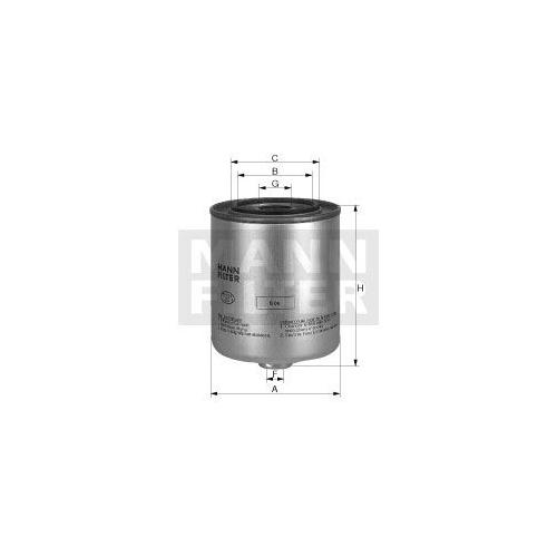 Kraftstofffilter Mann-filter WK 9048 x für Sperry New Holland