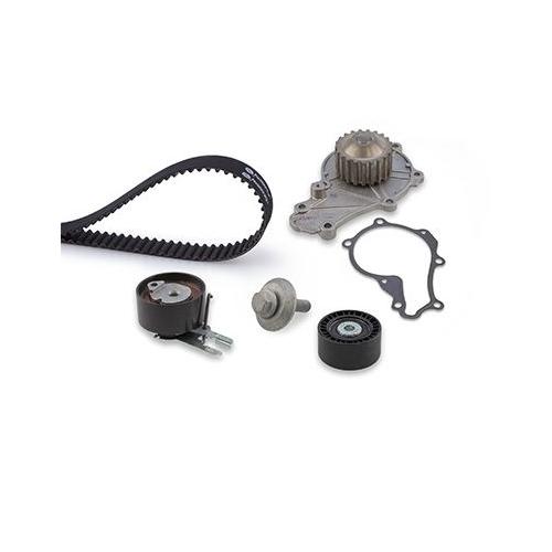 Wasserpumpe + Zahnriemensatz Gates KP15587XS Powergrip® für Citroën Ford Peugeot