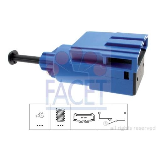 Schalter Kupplungsbetätigung (gra) Facet 7.1220 Made In Italy - Oe Equivalent VW