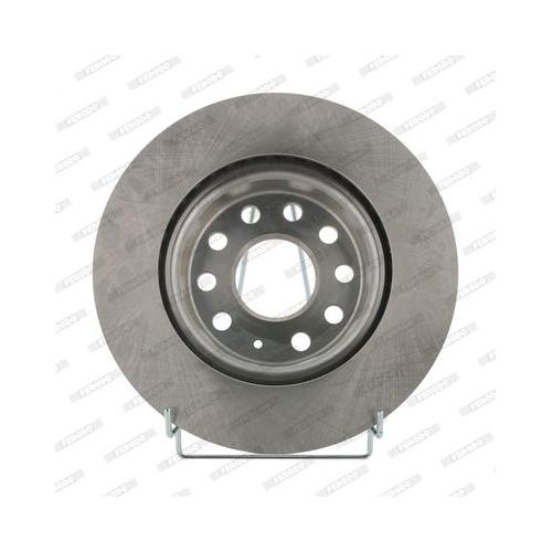 2 Bremsscheibe FERODO DDF1223 PREMIER für AUDI SEAT SKODA VW VAG, Vorderachse