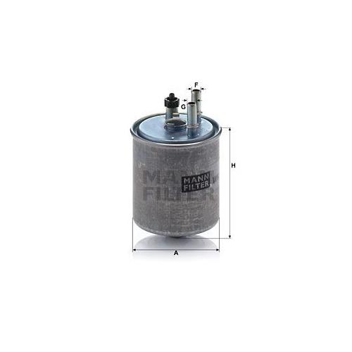 Kraftstofffilter Mann-filter WK 918/2 X für Renault
