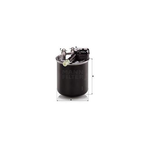1 Kraftstofffilter Mann-filter WK 820/17 für Mercedes Benz Mercedes Benz Nissan