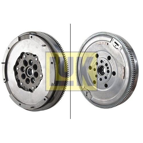 1 Schwungrad LuK 415 0714 10 LuK DMF BMW MINI, für Fahrzeuge mit Schaltgetriebe