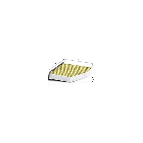 1 Filter Innenraumluft Mann-filter FP 2939 Freciousplus für Vag