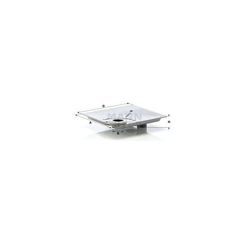 1 Hydraulikfilter Automatikgetriebe Mann-filter H 1615/1 x KIT für Bmw