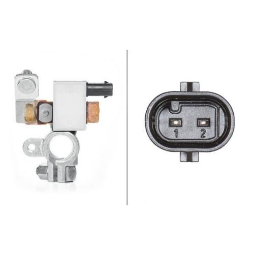 Sensor Batteriemanagement Hella 6PK 010 557-901 für Opel Vauxhall Chevrolet
