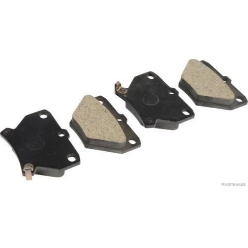 Bremsbelagsatz, Scheibenbremse HERTH+BUSS JAKOPARTS J3612018 für SUZUKI TOYOTA
