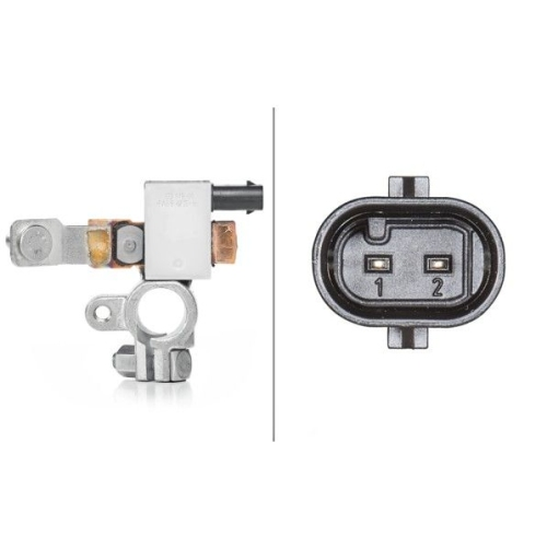 Sensor Batteriemanagement Hella 6PK 010 557-911 für Opel Vauxhall Chevrolet