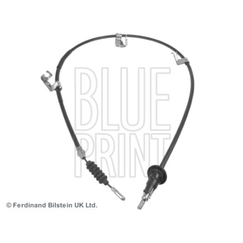 Seilzug, Feststellbremse BLUE PRINT ADC446181 für MITSUBISHI SMART, hinten links
