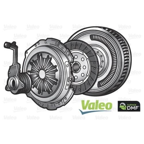 Kupplungssatz Valeo 837001 Fullpack Dmf (csc) für