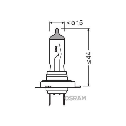 Glühlampe Abbiegescheinwerfer Osram 64210NL-HCB Night Breaker® Laser für