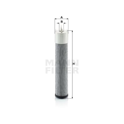 1 Filter Arbeitshydraulik Mann-filter H 7010 für Massey Ferguson Same Deutz Fahr
