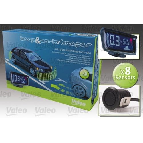 Einparkhilfe VALEO 632023, hinten, für Fahrzeuge mit Anhängevorrichtung